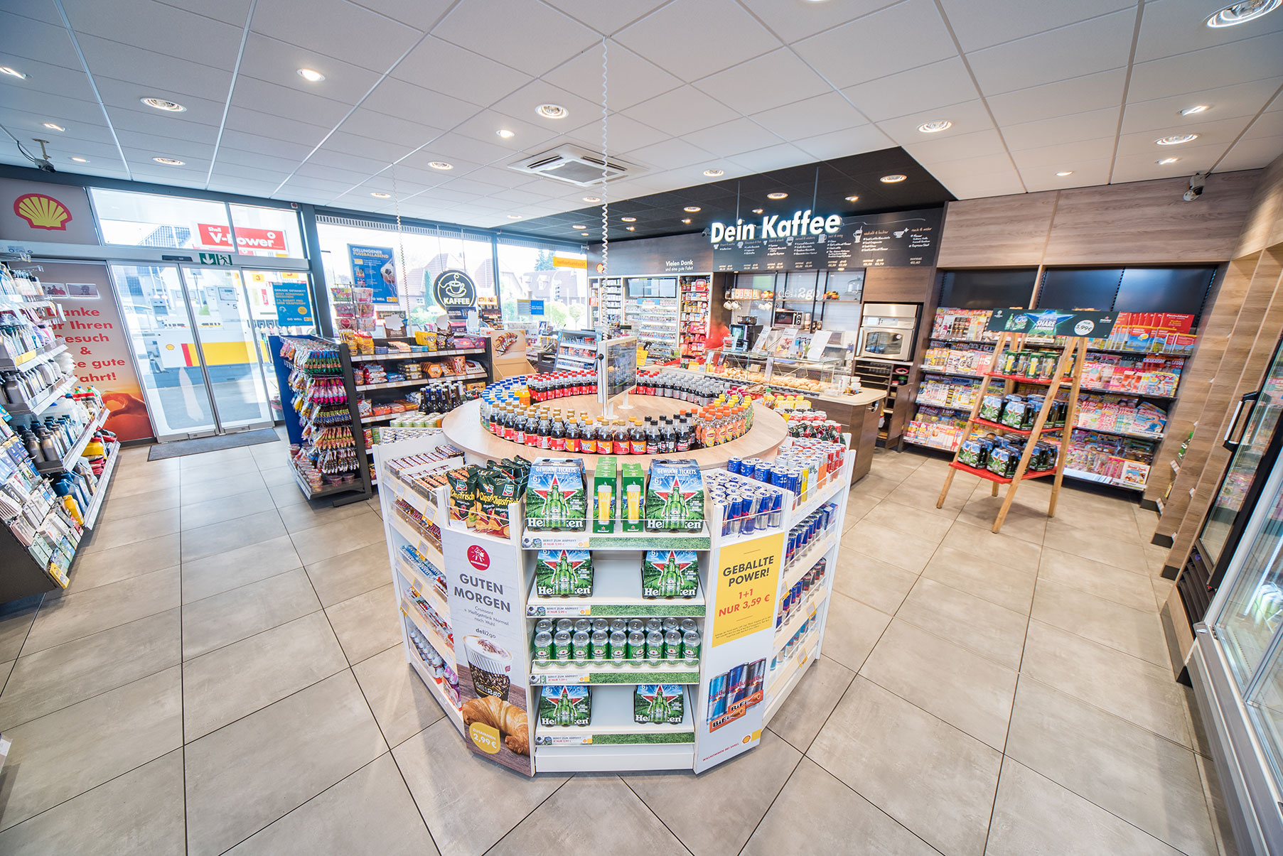 Shell Convenience & Food Retail planners in Denmark | Germany